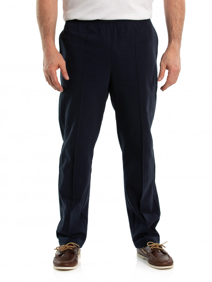 Cotton Crinkle Pant