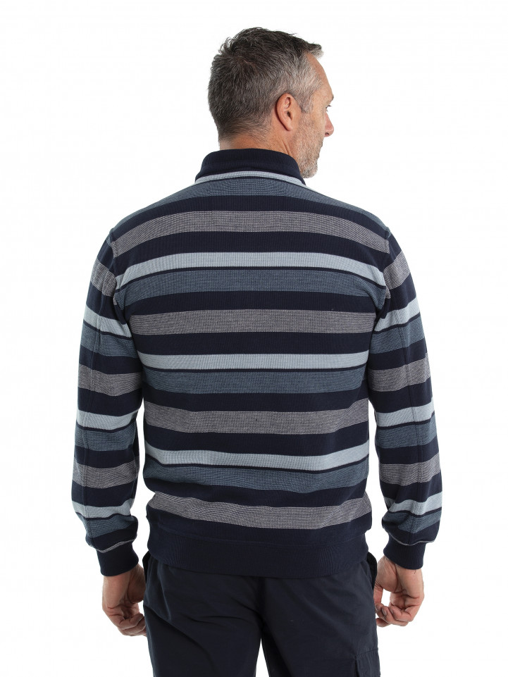Donny French Rib Half Zip