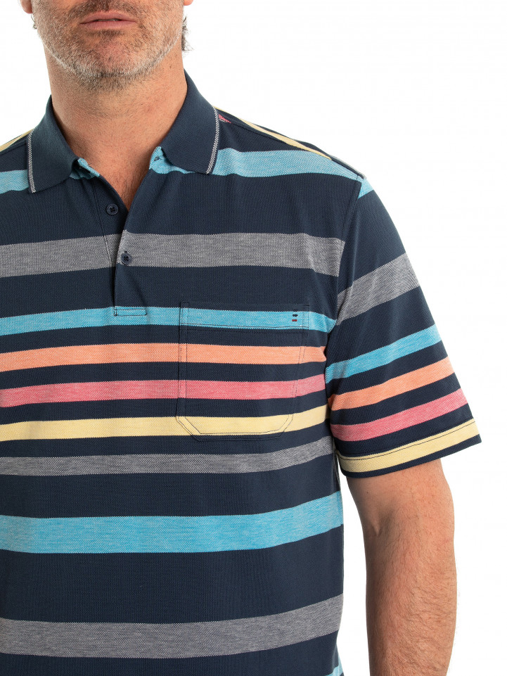 Adley 60/40 Tuck Stitch Polo