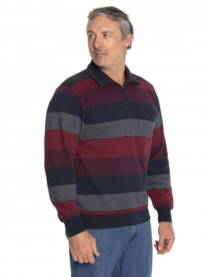 Mylz French Rib Half Zip