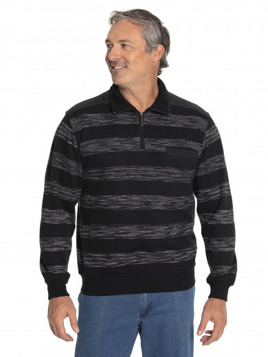 Savant French Rib Half Zip