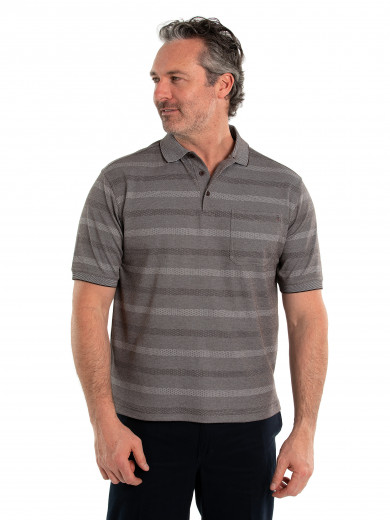 Stripe Pima Luxe Polo