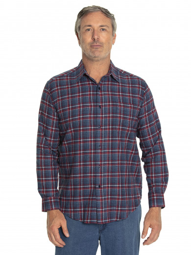 Keyes Cotton Brush Shirt